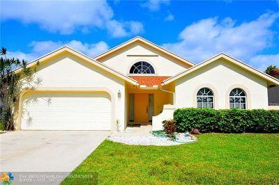 Boca Raton Single Family Home Backup Contract-Call LA: 22617 Blue Fin Trail