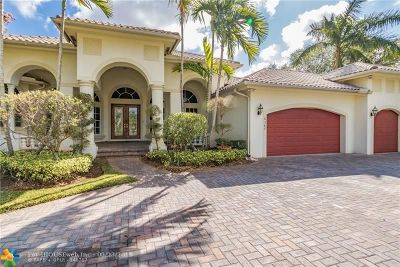 Coral Springs Single Family Home For Sale: 6387 NW 120th Dr