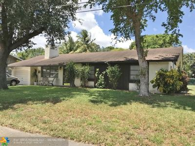 Wilton Manors Single Family Home For Sale: 91 NE 20th St