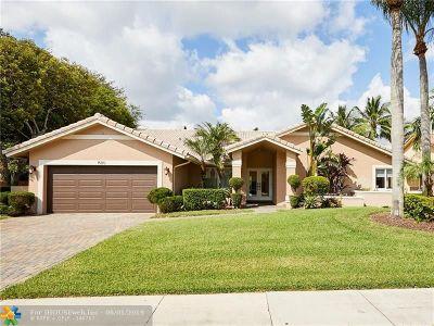 Plantation Single Family Home Backup Contract-Call LA: 1580 NW 100th Way