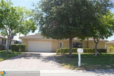 Tamarac Single Family Home For Sale: 9400 NW 80th St