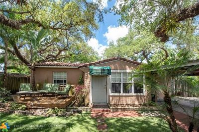 Fort Lauderdale FL Single Family Home For Sale: $389,500