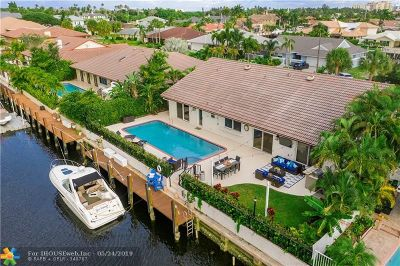 Lighthouse Point Single Family Home For Sale: 2931 NE 48th St