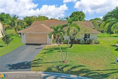 Coral Springs FL Single Family Home For Sale: $384,900