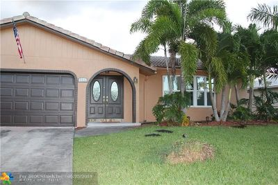 Coral Springs Single Family Home For Sale: 1844 NW 83rd Dr