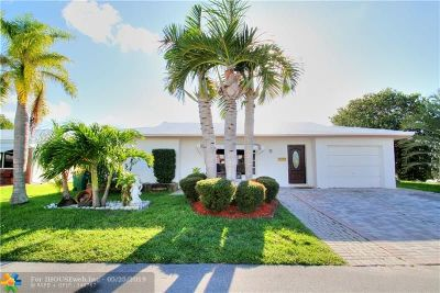 Tamarac FL Single Family Home For Sale: $249,750