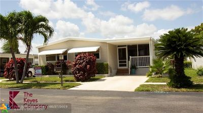 Pompano Beach Single Family Home For Sale: 119 NW 52nd Ct