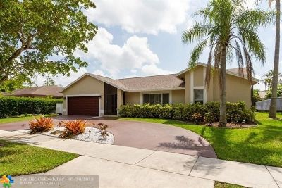 Coconut Creek Single Family Home For Sale: 5028 NW 48th Ave