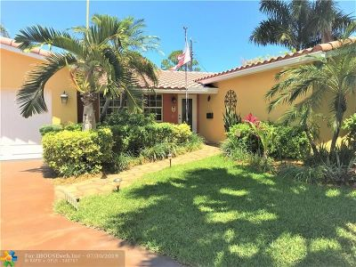 Fort Lauderdale Single Family Home For Sale: 1737 NE 58th St