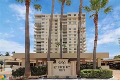 Lauderdale By The Sea Condo/Townhouse For Sale: 5200 N Ocean Blvd #515