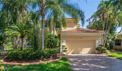 Weston Single Family Home Backup Contract-Call LA: 2454 Bay Isle Ct