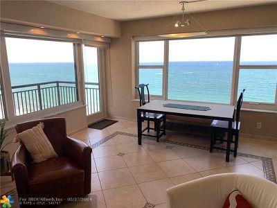 Rental For Rent: 3800 Galt Ocean Dr #1605