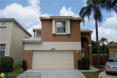Coconut Creek Single Family Home For Sale: 5207 Eagle Cay Pl