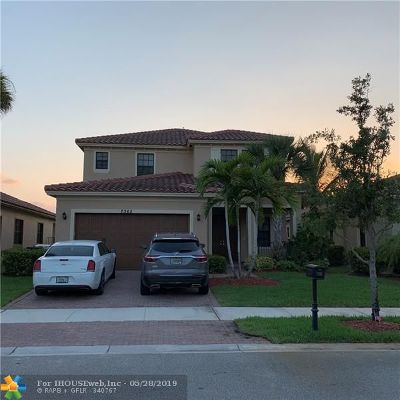 Parkland Single Family Home For Sale: 7365 NW 112th Ter
