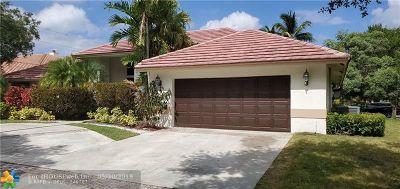 Weston Single Family Home Backup Contract-Call LA: 1090 Smoke Tree Ct
