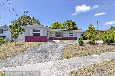 Lauderdale Lakes Single Family Home Backup Contract-Call LA: 3574 NW 23rd St