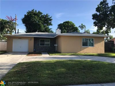 Lauderhill Single Family Home For Sale: 4710 NW 18th Ct