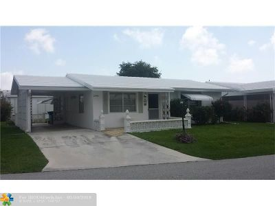 Pompano Beach Single Family Home For Sale: 2590 NW 2nd Dr