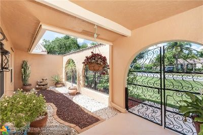 Coral Springs Single Family Home For Sale: 2500 NW 115th Ave