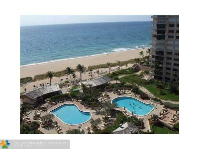 Lauderdale By The Sea Condo/Townhouse For Sale: 4900 N Ocean Bvd #1202