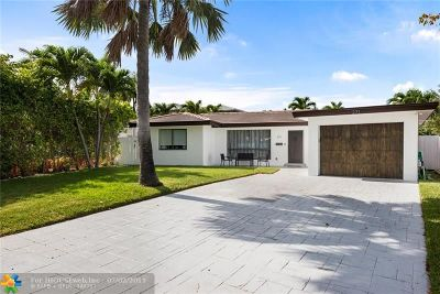 Lauderdale By The Sea Single Family Home For Sale: 271 N Tradewinds Ave