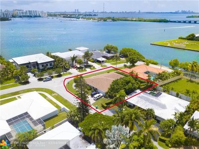 Miami Single Family Home For Sale: 8450 NE Bayshore Dr