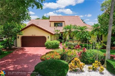 Coral Springs Single Family Home For Sale: 5110 NW 88th Ln