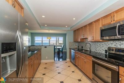Pompano Beach Condo/Townhouse For Sale: 1800 S Ocean Blvd #908