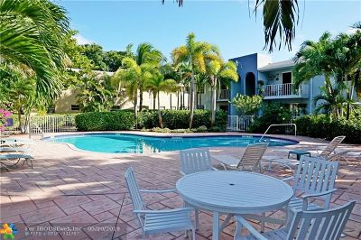Wilton Manors Rental For Rent: 2607 NE 8th Ave #62