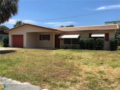 Deerfield Beach Single Family Home Backup Contract-Call LA: 520 SE 8th Ave