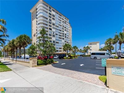 Pompano Beach Condo/Townhouse For Sale: 1012 N Ocean Blvd #810