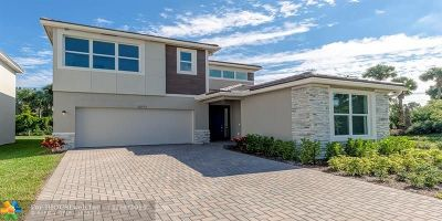 Palm Beach County Single Family Home For Sale: 6277 Trails Of Foxford Ct