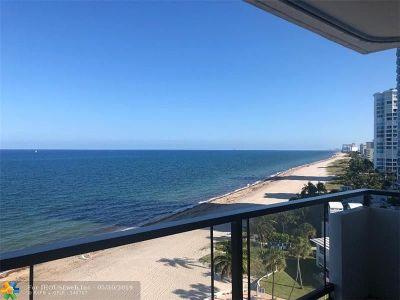 Pompano Beach Condo/Townhouse For Sale: 1500 S Ocean Blvd #905