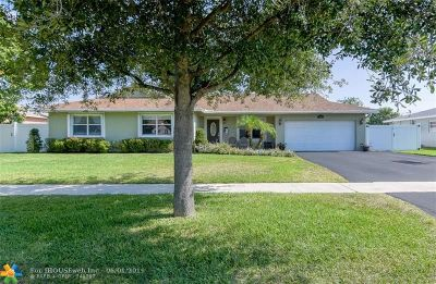 Plantation Single Family Home For Sale: 5321 SW 9th St