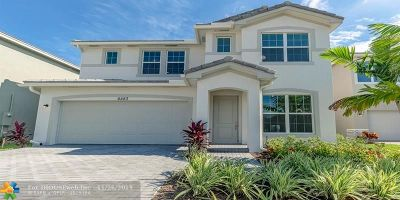West Palm Beach Single Family Home For Sale: 6283 Trails Of Foxford Ct