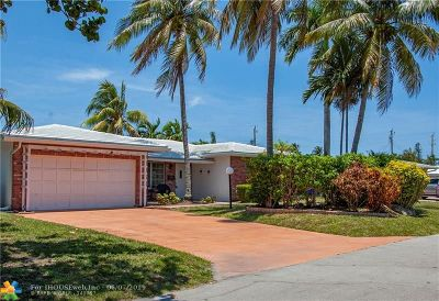 Lauderdale By The Sea Single Family Home For Sale: 241 Oceanic Ave