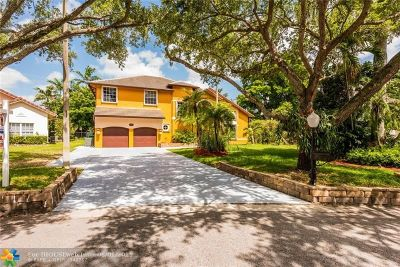 Cooper City Single Family Home Backup Contract-Call LA: 3601 Starboard Ave