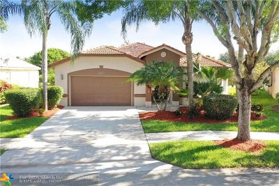 Coconut Creek Single Family Home Backup Contract-Call LA: 6220 Swans Ter