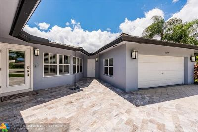 Wilton Manors Single Family Home For Sale: 1916 NE 24th St