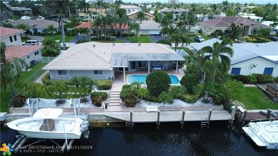 Lighthouse Point Single Family Home Backup Contract-Call LA: 4121 NE 24th Ave