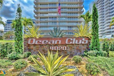 Rental For Rent: 4020 Galt Ocean Dr #1007