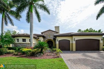 Parkland Single Family Home For Sale: 12191 NW 73rd St