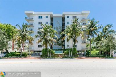 Miami Beach Condo/Townhouse For Sale: 1025 Alton Rd #308