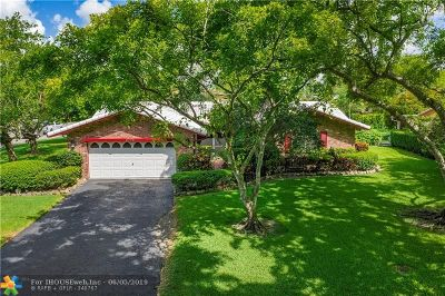 Coral Springs Single Family Home For Sale: 8775 NW 29th Dr