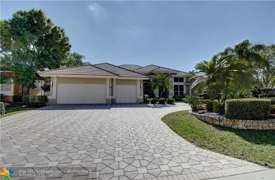 Coral Springs Single Family Home Backup Contract-Call LA: 1711 NW 124th Way