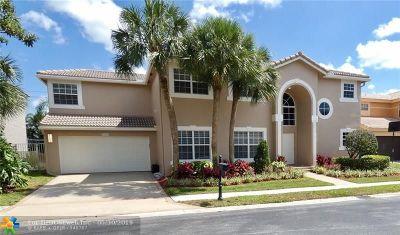 Boca Raton Single Family Home For Sale: 10616 Wheelhouse Cir