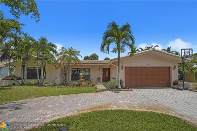 Coral Springs Single Family Home For Sale: 8131 NW 3rd Pl