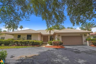Coral Springs Single Family Home For Sale: 8660 NW 53rd Ct
