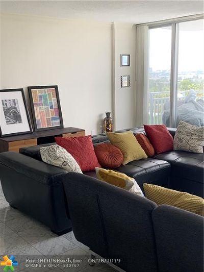 North Miami Condo/Townhouse For Sale: 2100 Sans Souci Blvd #702