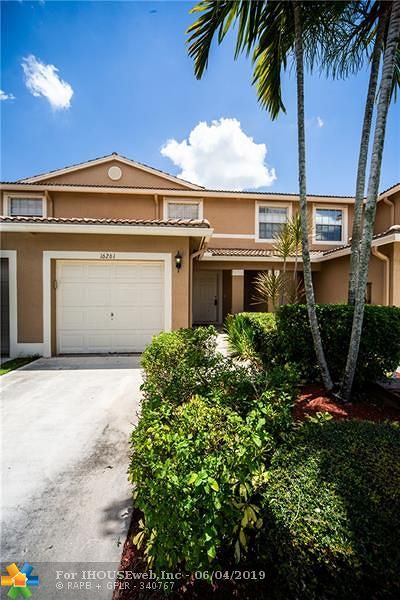 Delray Beach Condo/Townhouse For Sale: 16261 Sierra Palms Dr